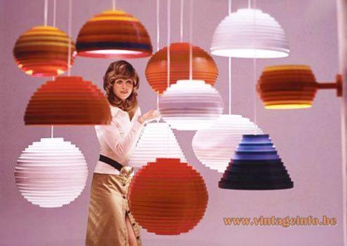 Vest Leuchten GmbH Dynamic Pendant Lamps Publicity