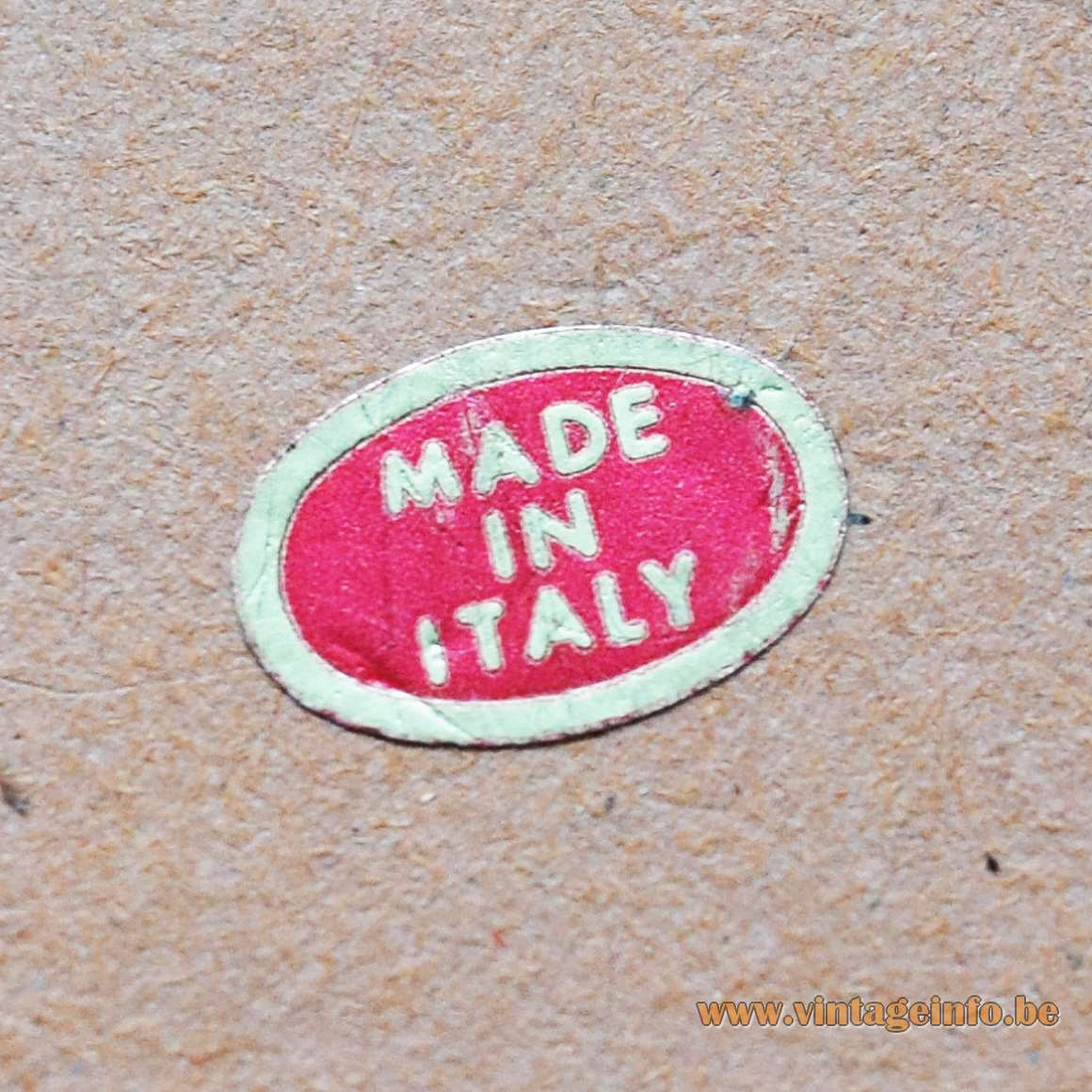 1960s Felt Clown Bobblehead Table Lamp styrofoam cardboard fabric Made in Italy label 1970s
