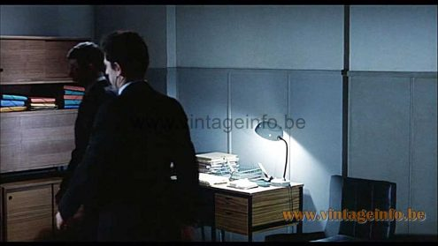 Aluminor UFO desk lamp was used as a prop in the film Le Cercle Rouge (1970)