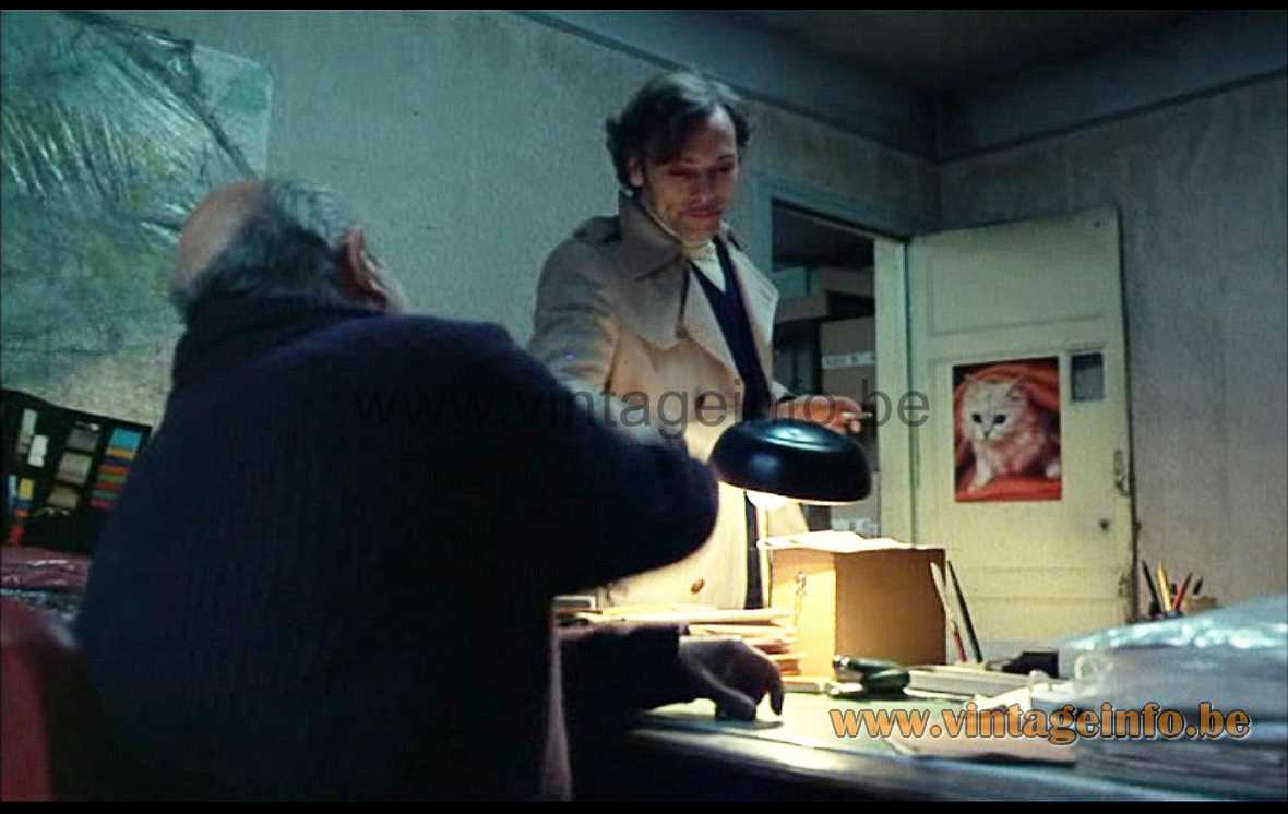 Aluminor UFO desk lamp was used as a prop in the French film Série Noire (1979)