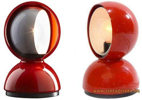 Artemide Eclisse Table Lamps 1970s & New