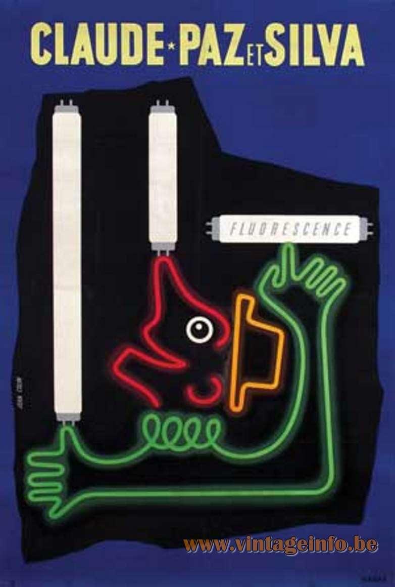 Jean Colin - Claude-Paz et Silva poster