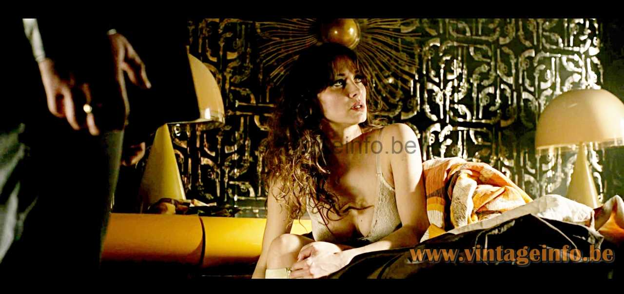 iGuzzini Baobab table lamp used as a prop in the 2014 film X-Men - Days Of Future Past