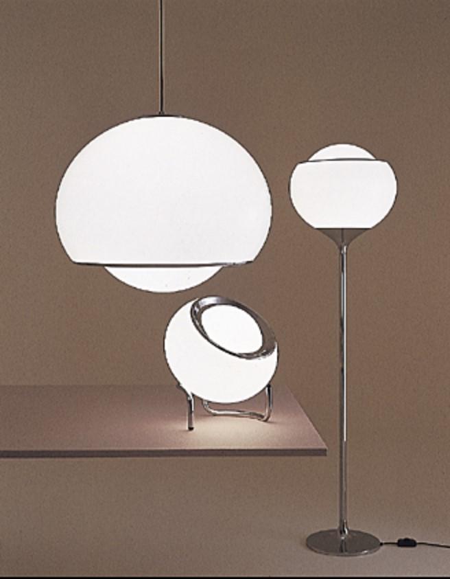 iGuzzini Bud Pendant Lamp, Flash Floor Lamp Clan Floor Lamp - Catalogue Picture