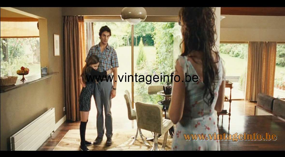 iGuzzini Bud pendant lamp used as a prop in the 2008 film Le Premier Jour du Reste de Ta Vie