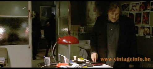 A1970s Bauhaus style desk lamp used as a prop in the 2009 film Diamant 13
