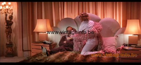 1980s Pagoda Table Lamp used as a prop in the film Trail of the Pink Panther (1982) Lamps in the movies!