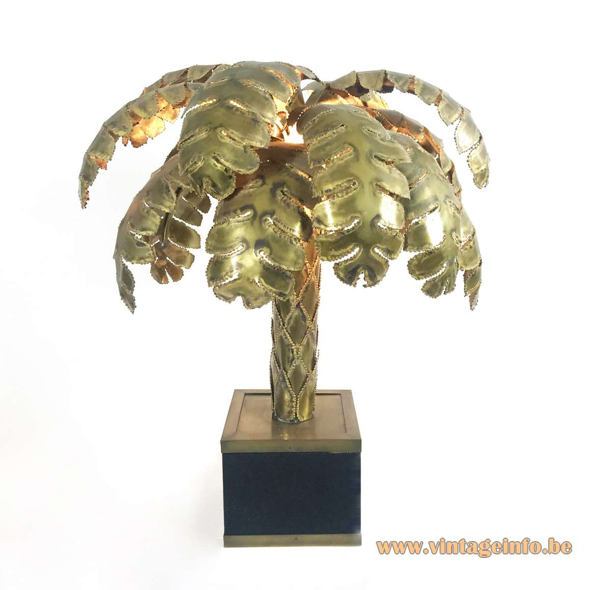 Maison Jansen Palm Tree Table Lamp Vintage Info All About