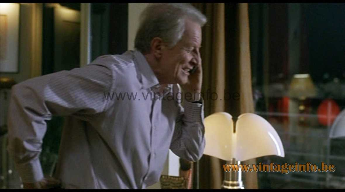 Martinelli Luce Pipistrello Table Lamp used as a prop in French comedy film Tanguy (2001)