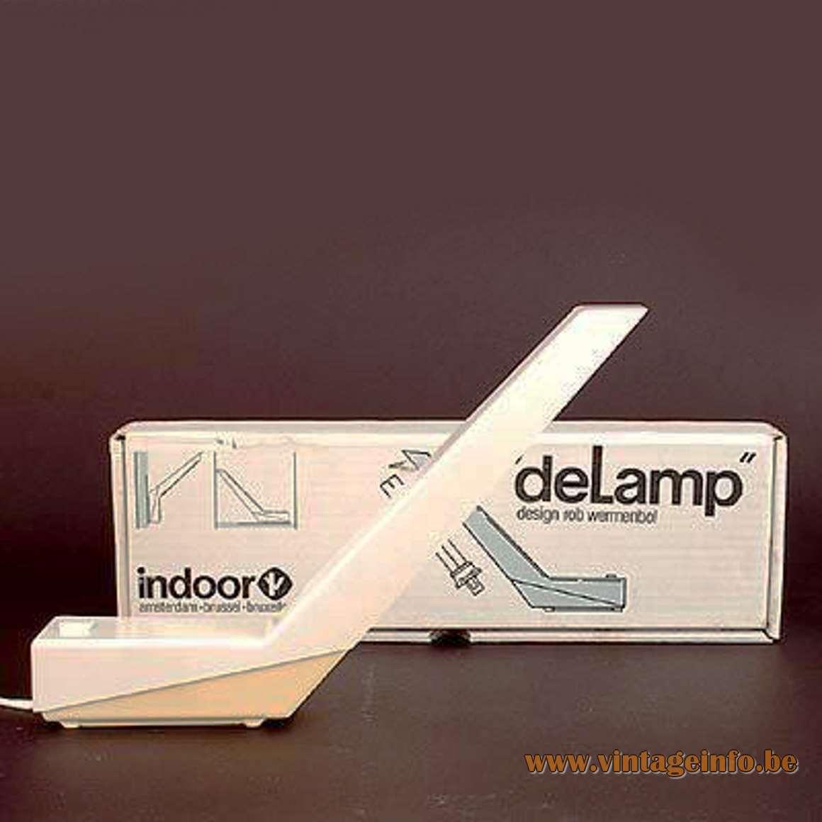 Indoor deLamp - Box - 1983 - Rob Wermenbol