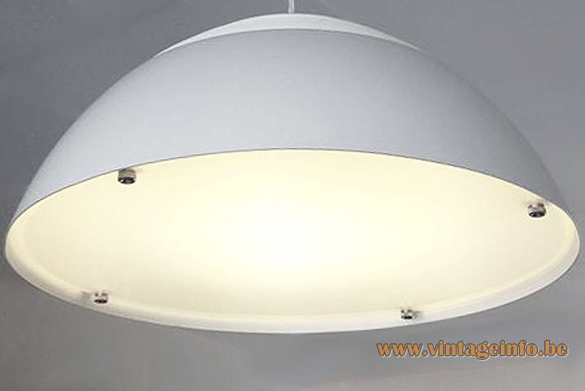 Louis Poulsen AJ Royal pendant lamp designed in 1957 by Arne Jacobsen small version Produced in Denmark MCM