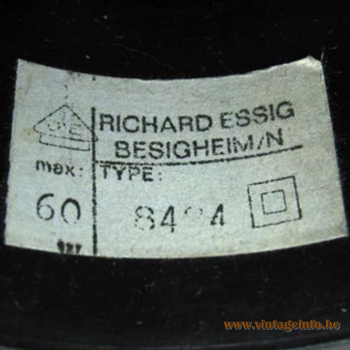 Richard Essig Besigheim Label