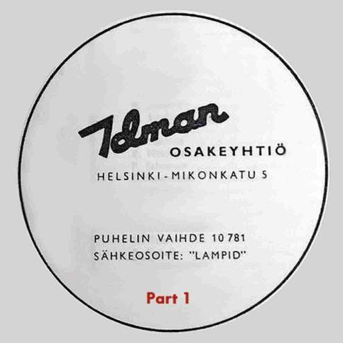 1955 Idman Catalogue 138 - Part 1