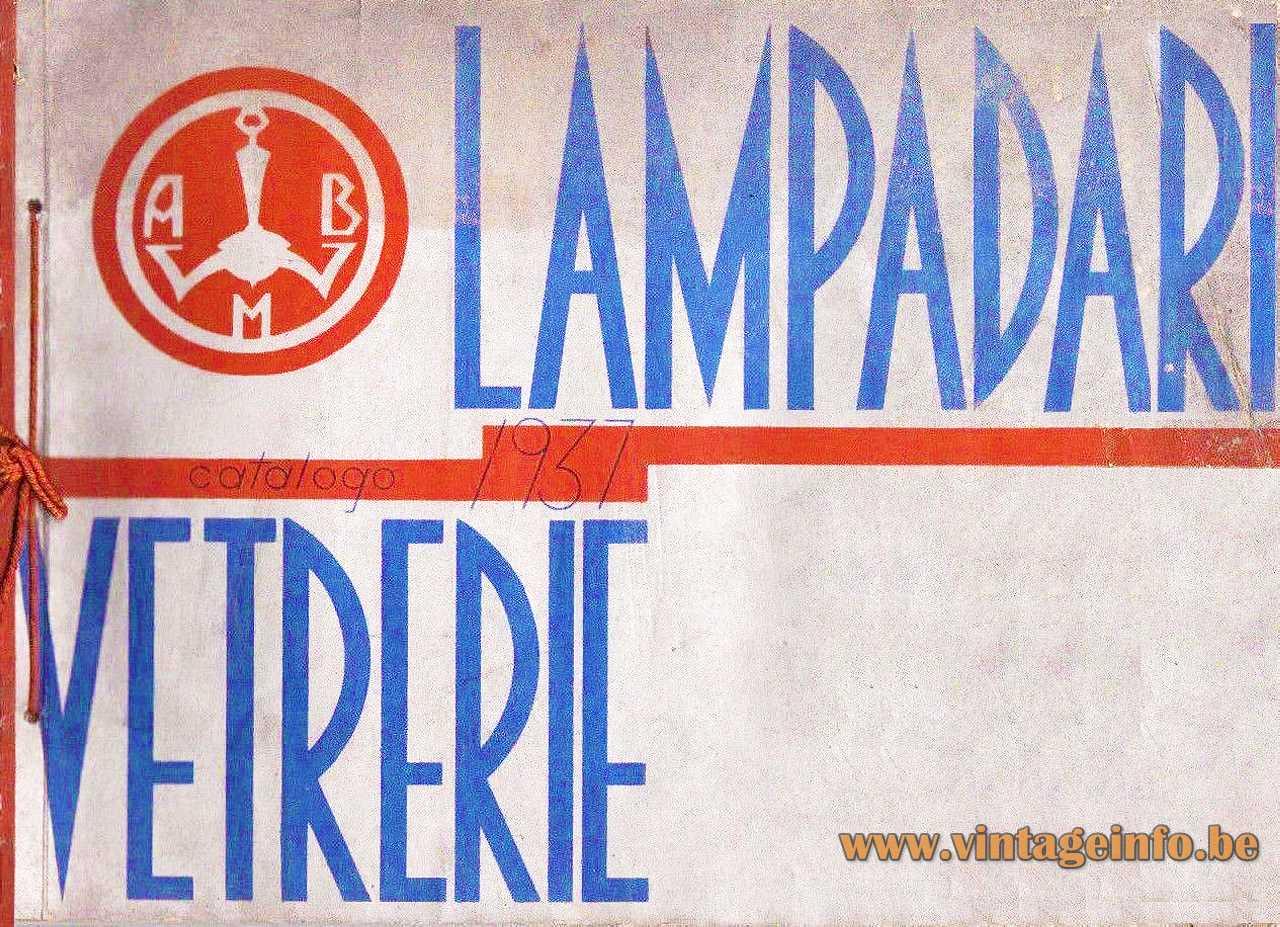 ABM Alfredo Bianchi Milano 1931 Catalogue Cover