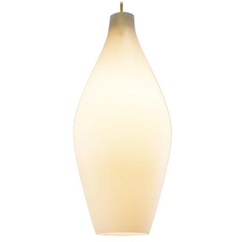 Aloys Ferdinand Gangkofner Granada pendant lamp produced by Peill + Putzler 1950s 1960s MCM