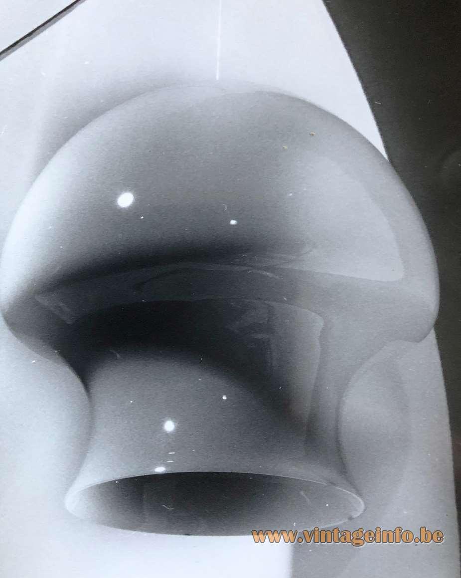 Herwig & Frank Sterckx pendant lamp designed for De Rupel Glass, Boom - Expo 1970
