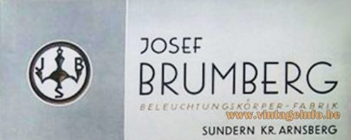 Josef Brumberg Beleuchtungskörperfabrik logo