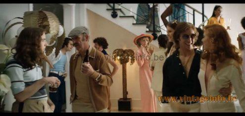 Maison Jansen palm tree floor lamp prop in the musical film Rocketman (2019) - Elton John
