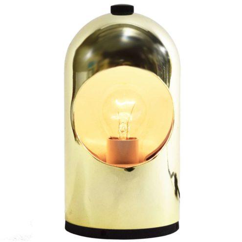 Selene eclipse table lamp Lightolier ABM modello brevettato Italy E14 socket Joe Colombo 1960s 1970s MCM