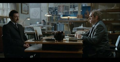 Philips Timor 69 desk lamp used as a prop in the 2008 film L'Instinct de Mort
