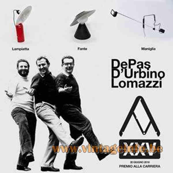 Stilnovo Lampiatta Table Lamp Publicity