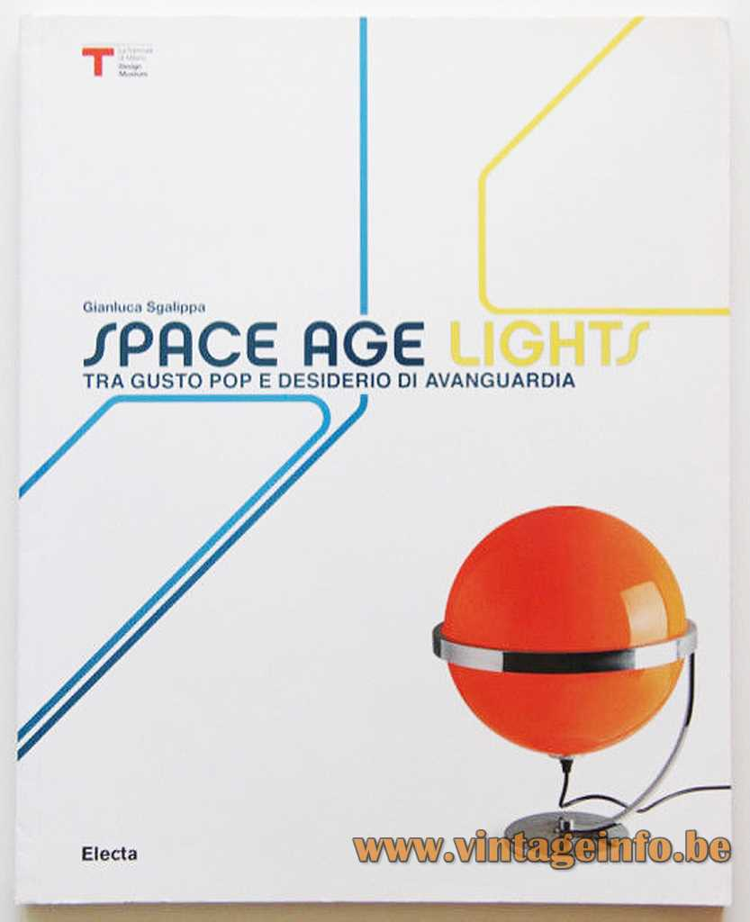 Guzzini Style Globe Table Lamp - Space Age Lights 2010 Electa Book