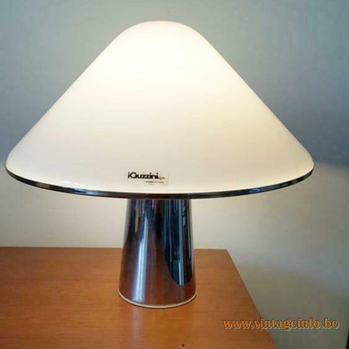 Harvey Guzzini Elpis Pendant Lamp - Table Lamp Version - 1960s, 1970s, iGuzzini, Meblo