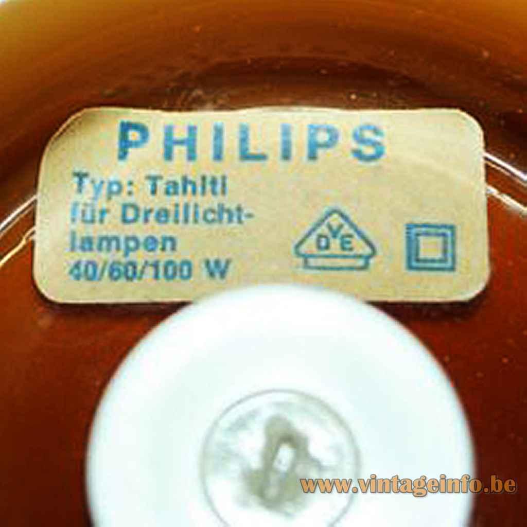 Philips Tobrouk Table Lamp - Tahiti Label