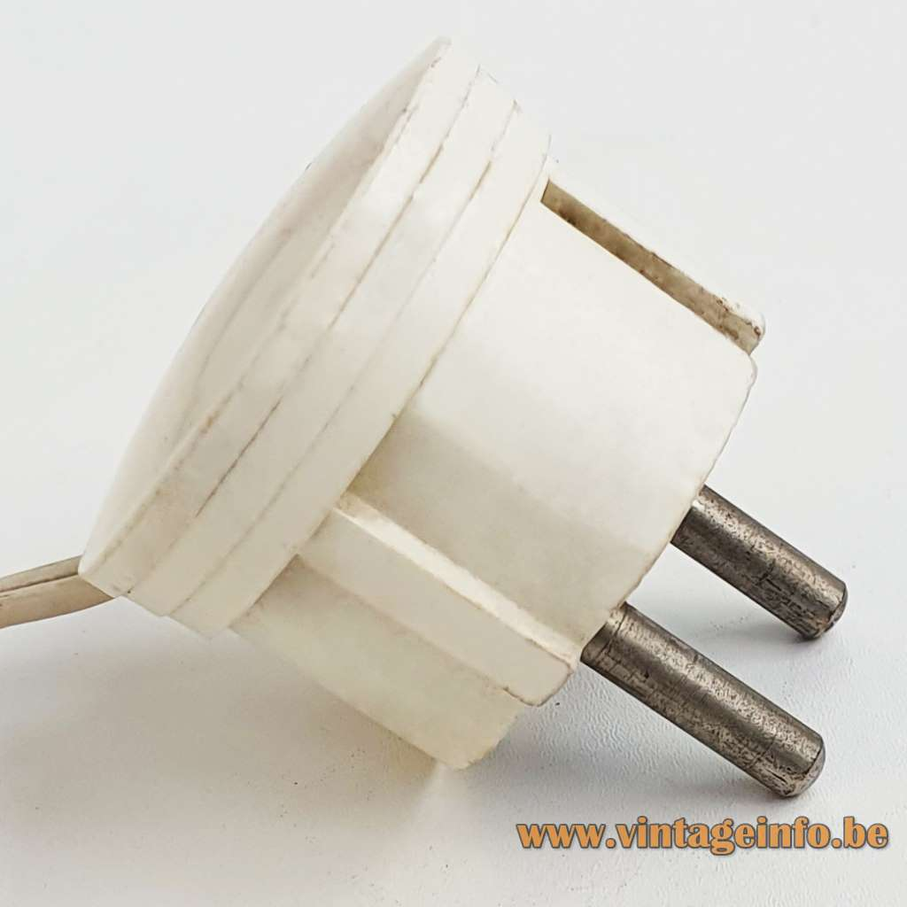 Eclipse table lamp design: Vico Magistretti copy fake E14 socket no Artemide 1960s 1970s MCM Mid-Century Modern