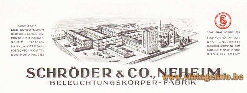 Beleuchtungskörperfabrik Schröder & Co.