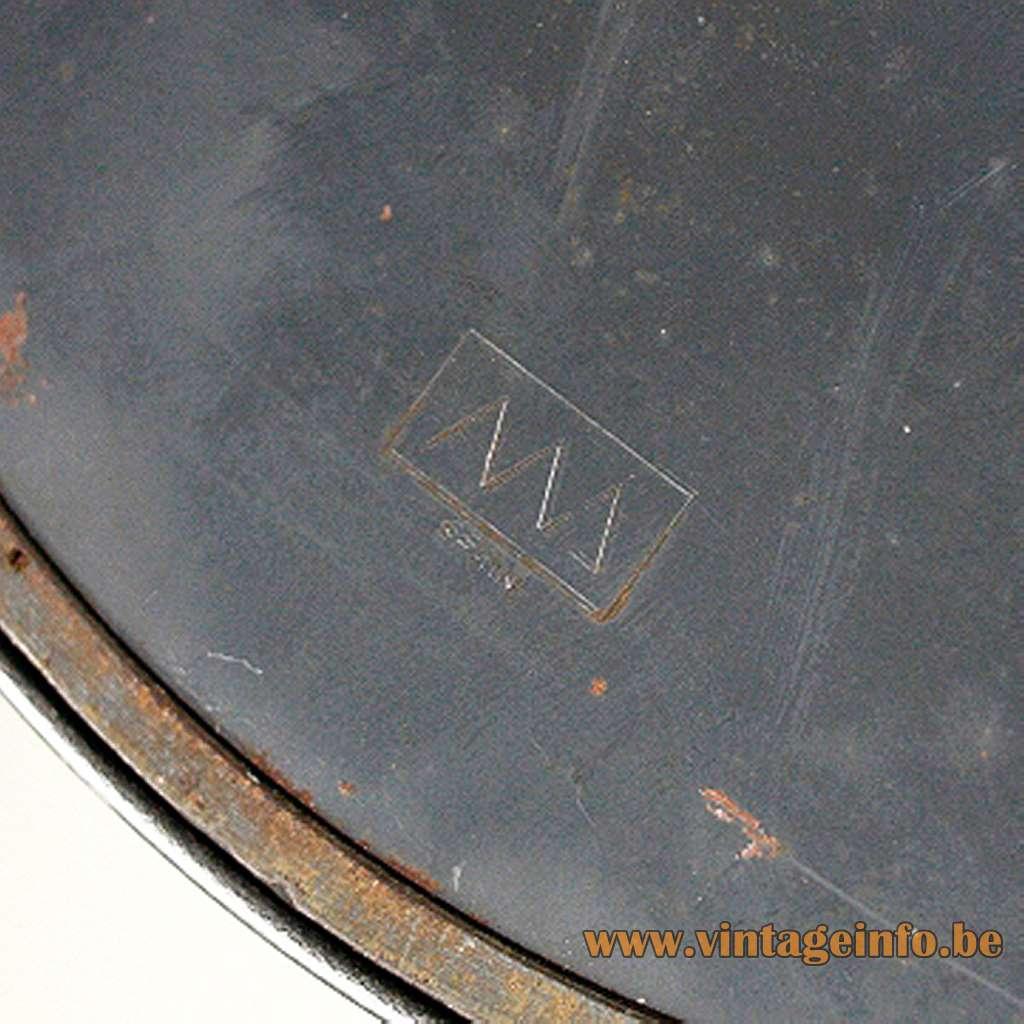 Christian Dell desk lamp 6631 Luxus Metalarte KAISER idell 1970s 1930s Bauhaus art deco table lamp metal chrome