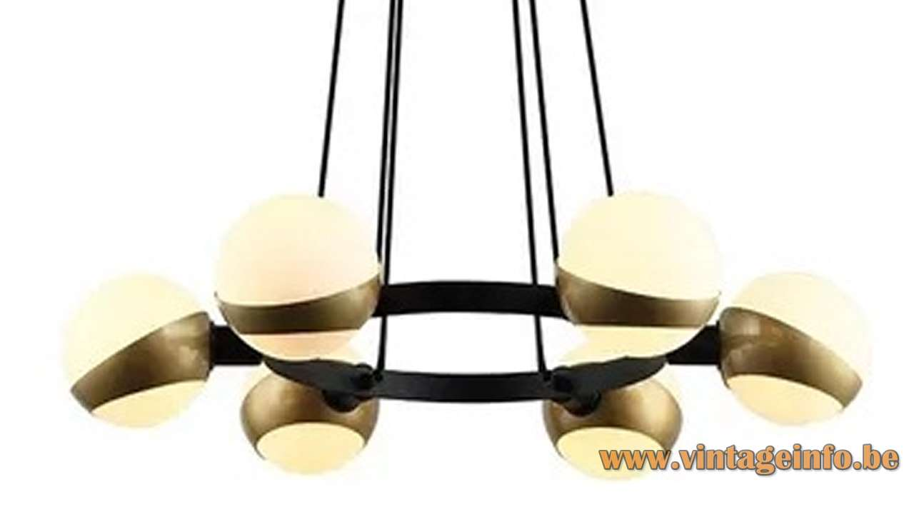 New Hala style chandelier 2019 white globes
