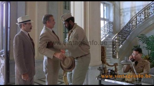 A Fase Faro table lamp was used as a prop in the film Cuba (1979)