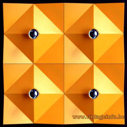 Heinz Neuhaus Geometric Wall Lamps - Design Rolf Krüger