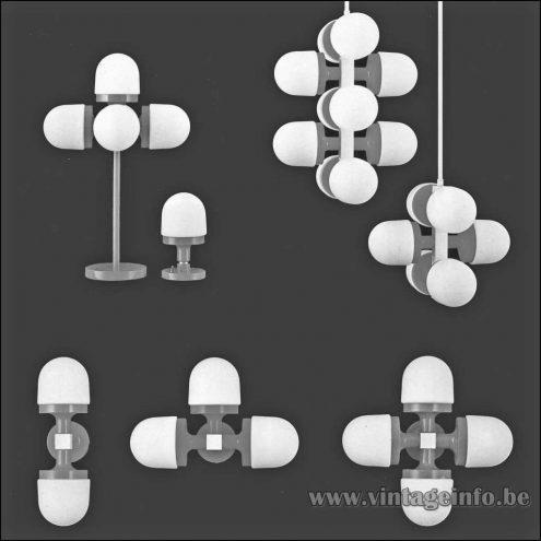 Heinz Neuhaus Lamp Series - Design Rolf Krüger