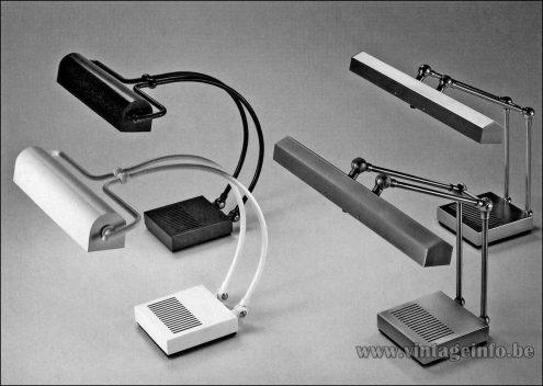 Heinz Neuhaus Reading Desk Lamps - Design Rolf Krüger