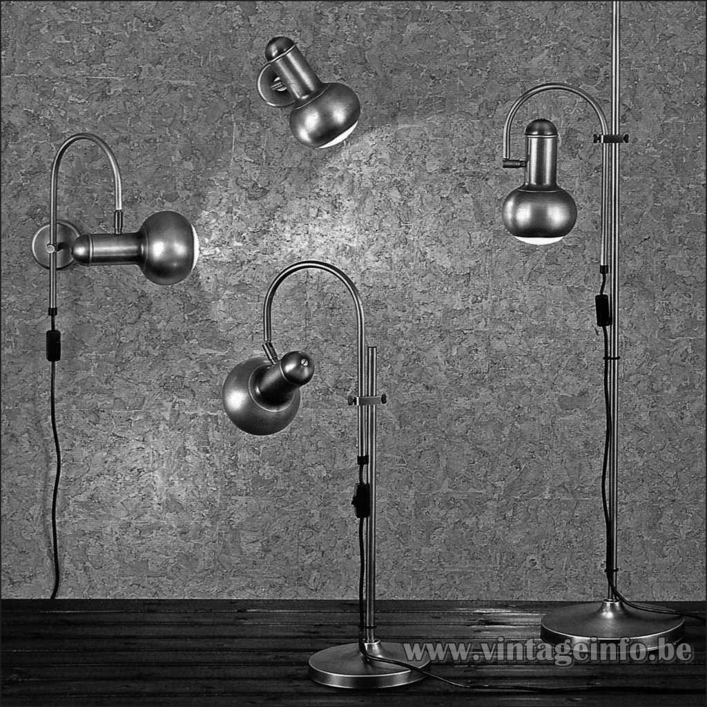 Heinz Neuhaus Spotlight Lamp Series - Design Rolf Krüger