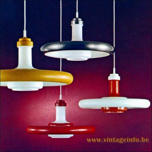 Heinz Neuhaus UFO Pendant Lamps - Design Rolf Krüger