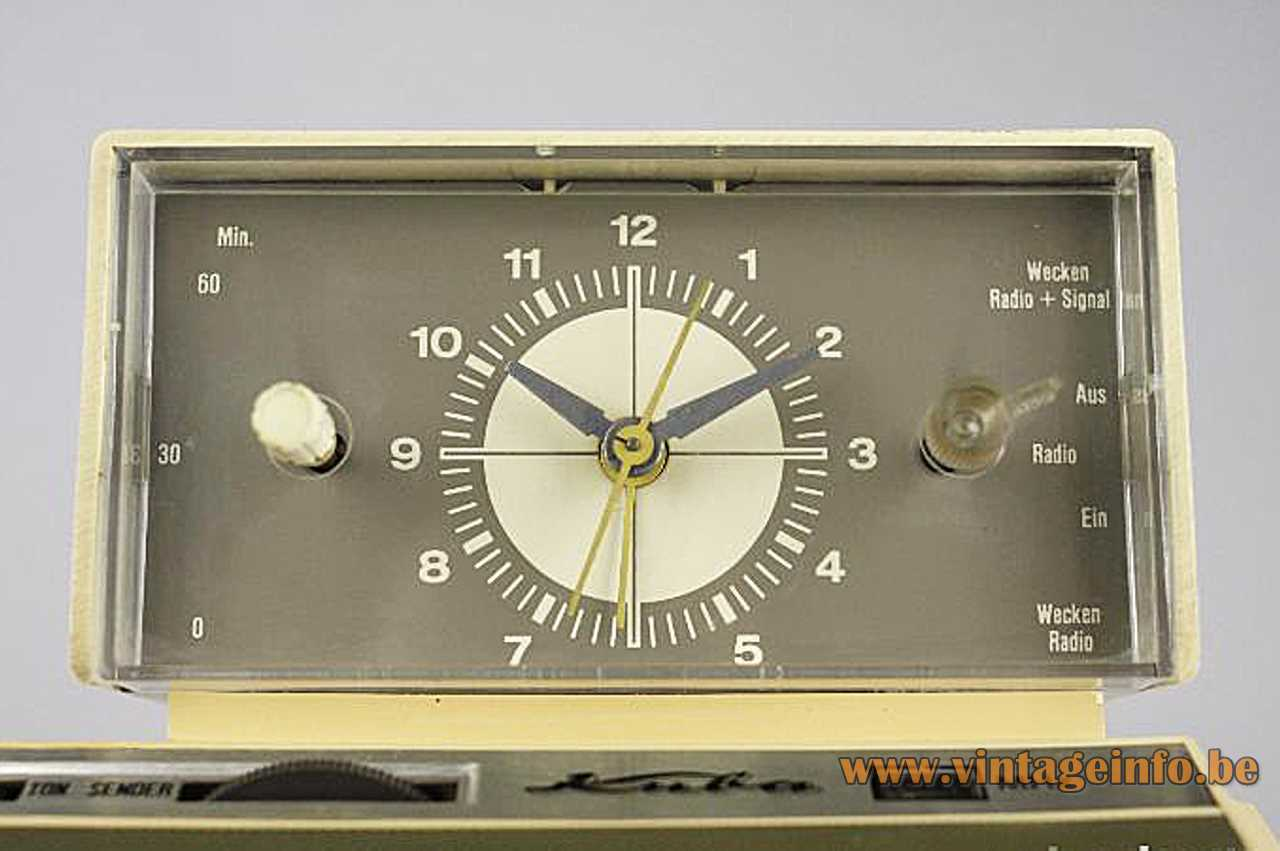 Kuba Clock Radio Lamp Vintageinfo All About Vintage