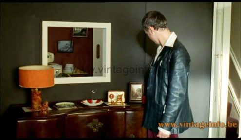Prova shatterline table lamp used as prop in the 2006, 2007 TV series Life On Mars