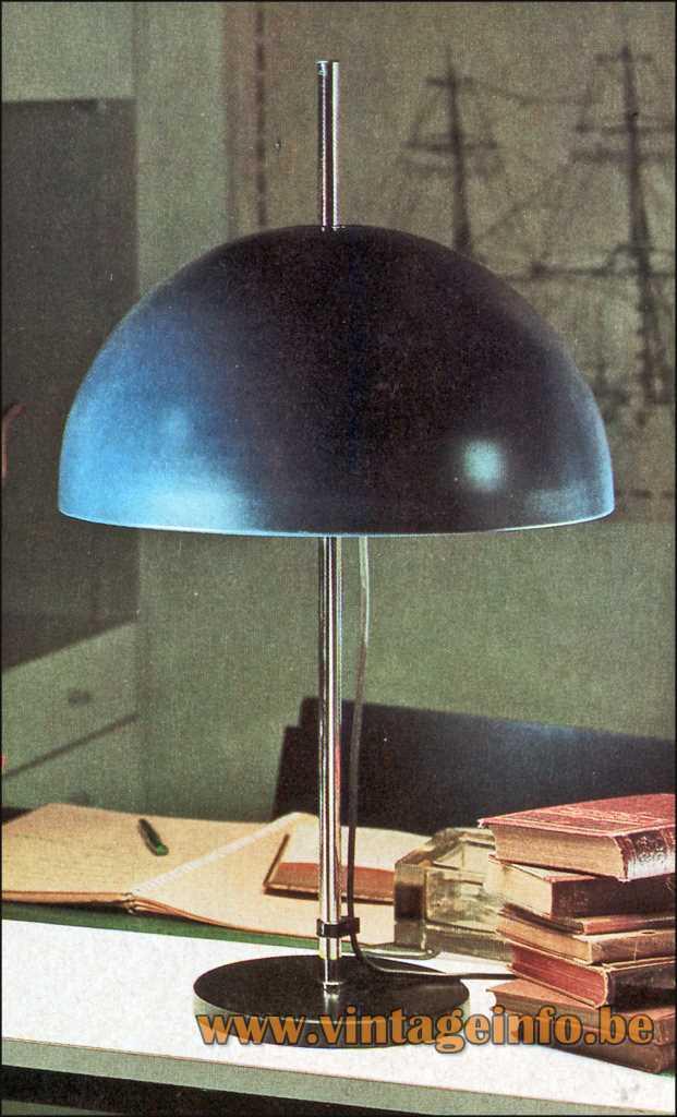 Staff Mushroom Table Lamp - Design Rolf Krüger