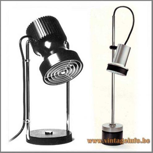 Staff Spotlight Table Lamps - Design Rolf Krüger