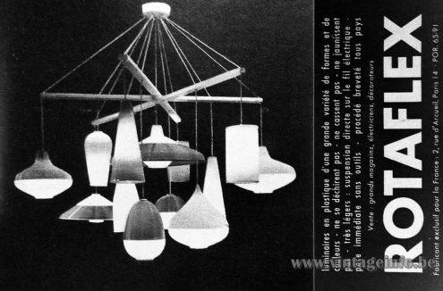 A.R.P. Atelier de Recherche Plastique publicity, Paris France 1957