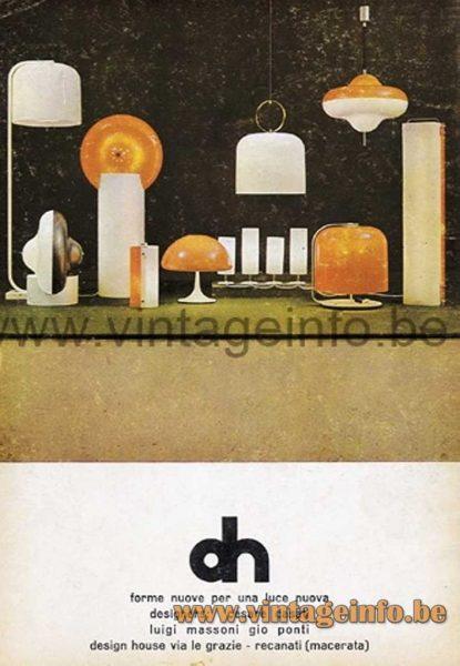 Disco pendant table floor lamp Toledo table lamp Alvise pendant table floor lamp Polsino tablefloor lamp