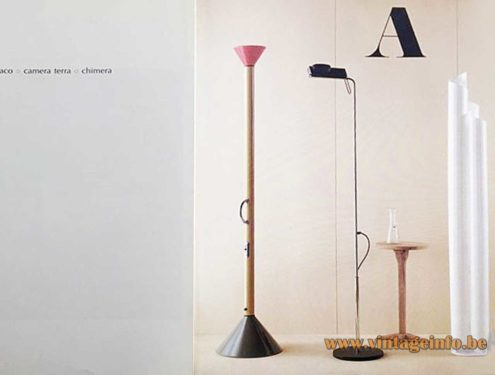 Ernesto Gismondi Camera Terra Floor Lamp - Artemide Catalogue Picture