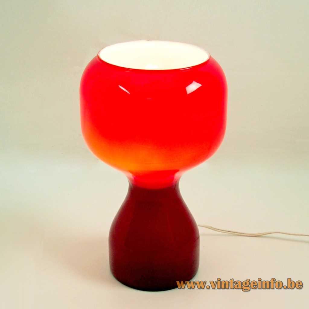 "1970s ""Tahiti"" Table Lamp - Massive, Belgium, no Philips"