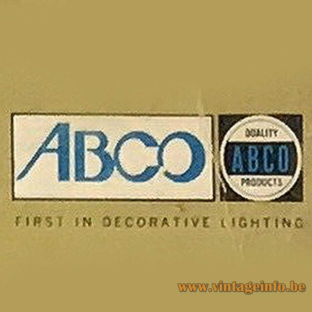 ABCO - Angelo Brothers Company label - logo