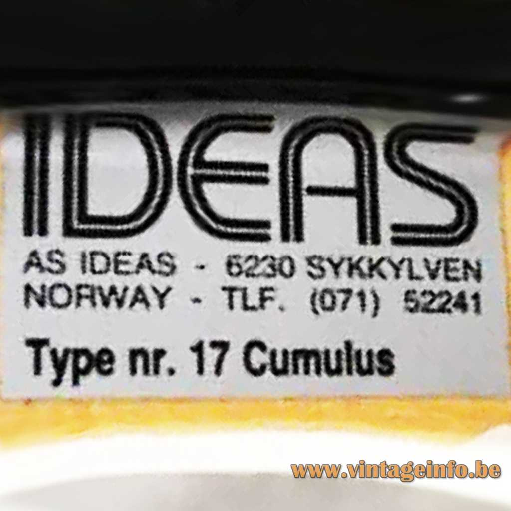 AS IDEAS 62330 Sykkylven Norway label