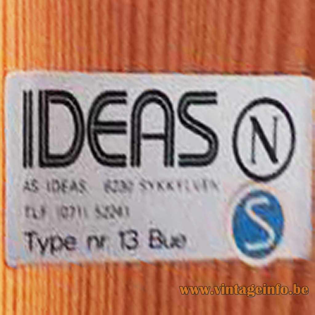 AS IDEAS label