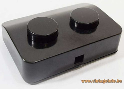 Achille Castiglioni VLM Components Switch Model D-662 Black